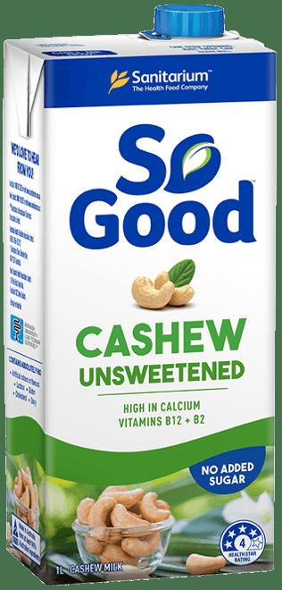So Good Cashew Milk Unsweetened