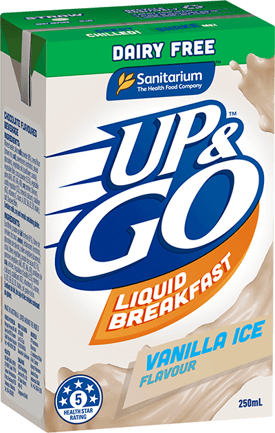 UP&GO Dairy Free Vanilla Ice Flavour