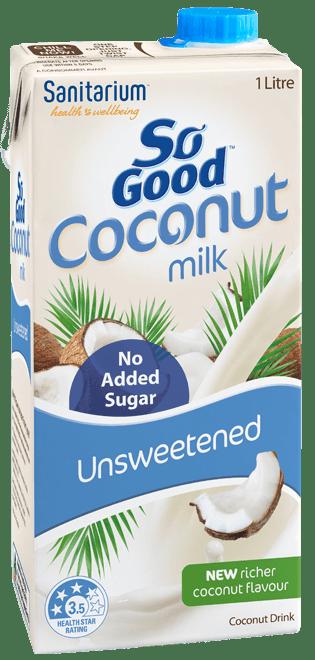 So Good Coconut Milk Unsweetened