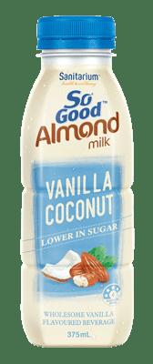 So Good Almond Milk Vanilla Coconut Flavoured