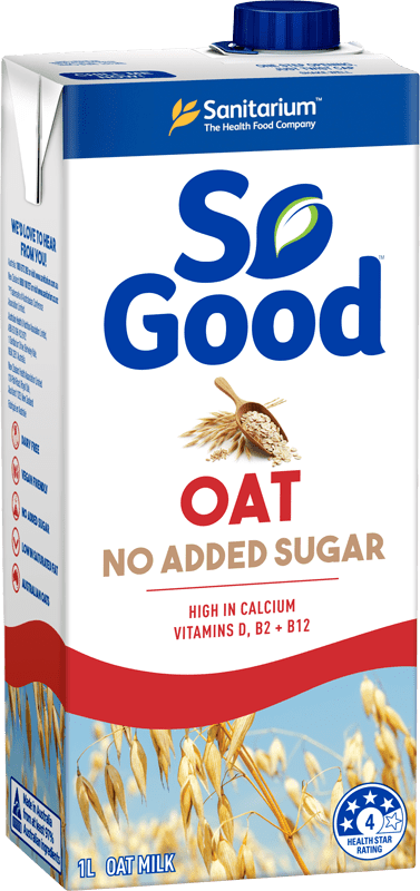 So Good Oat No Added Sugar