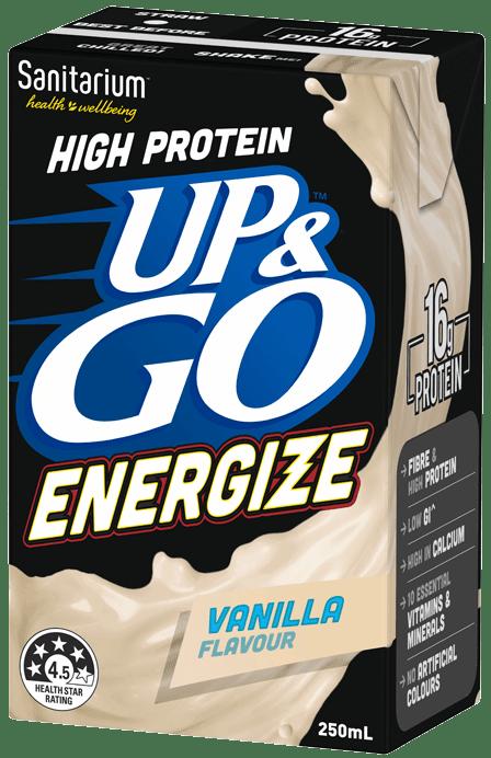UP&GO Energize Vanilla Flavour