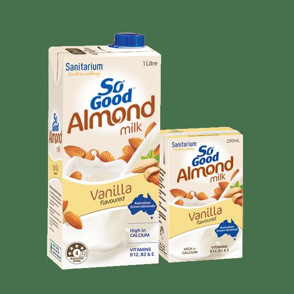 So Good Almond Milk Vanilla Flavoured