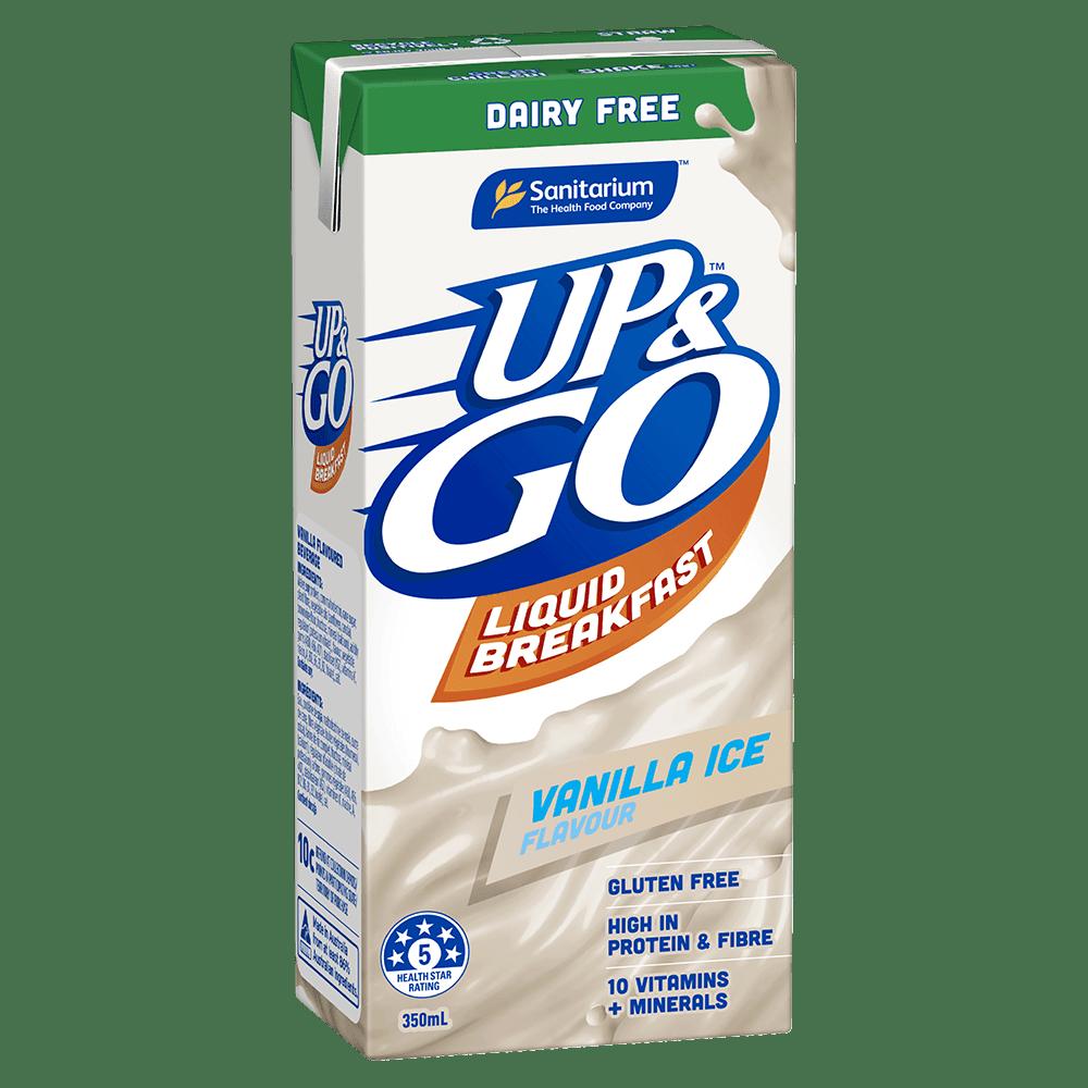 UP&GO Dairy Free Vanilla Ice Flavour