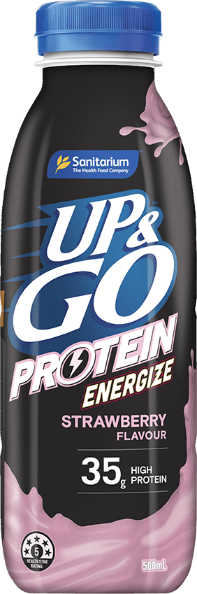 UP&GO™ Protein Energize Strawberry Bottle