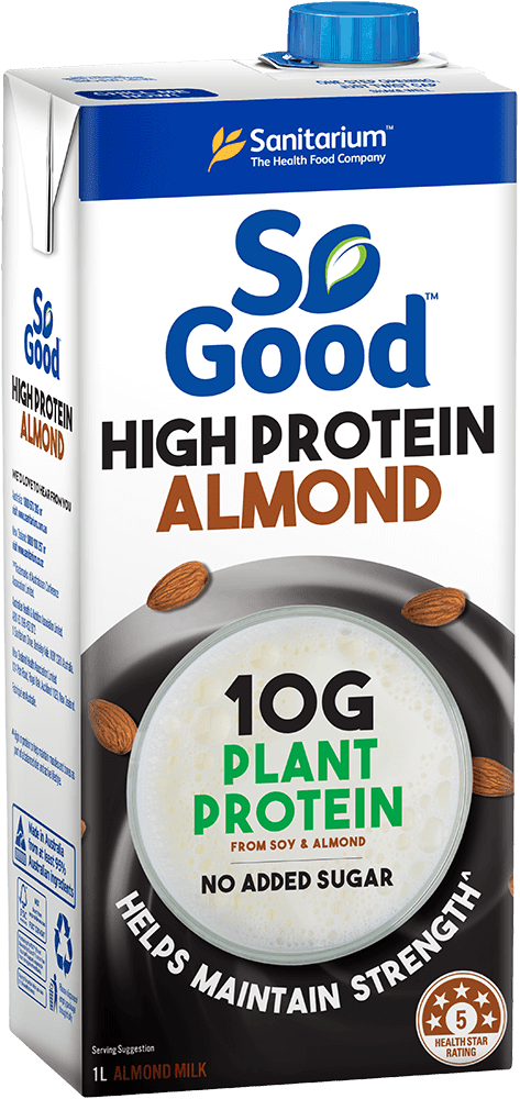 So Good High Protein Almond Milk