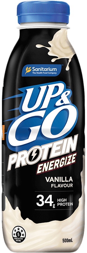 UP&GO™ Protein Energize Vanilla Flavour Bottle