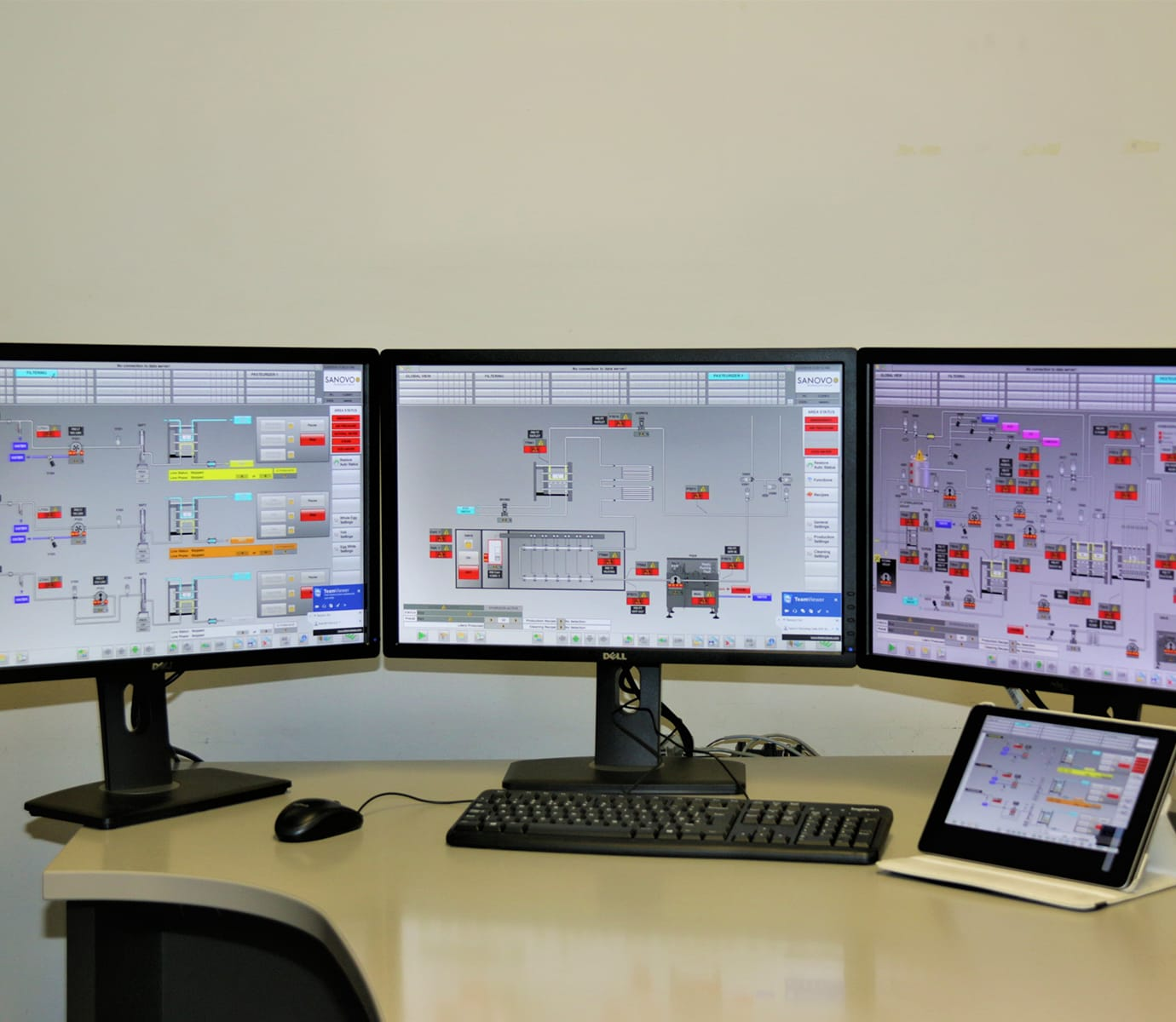What does SCADA consist of?