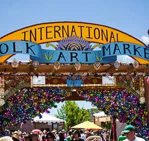 """2020 International Folk Art Market -Started in 2004, the annualInternational Folk Art Market  Santa Fe is held during one weekend of July on Milner Plaza on Museum Hill in Santa Fe, New Mexico. It often is considered the largest folk art market in the world, the mission is to """"foster economic and cultural sustainability for folk artists and folk art worldwide and to create intercultural exchange opportunities that unite the peoples of the world.UNESCO (United Nations Educational, Scientific, and Cultural Organization) was an early sponsor, providing funding for ten artists, followed by an artist-training program in 22 countries. UNESCO has given its Award of Excellence to several products beginning in 2007. In 2009, three booths featured UNESCO award-winning work. In 2008, 97% of the market artists were from developing countries in Africa, Asia, Latin America, Central Asia, and the Middle East."""