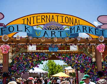"""2020 International Folk Art Market -Started in 2004, the annualInternational Folk Art Market