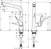 Hansgrohe M712-H320 Metris Select 320