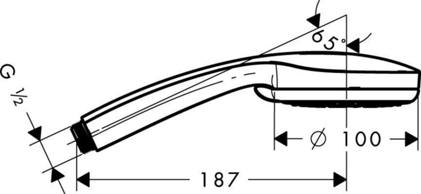 Hansgrohe Croma 100 Multi