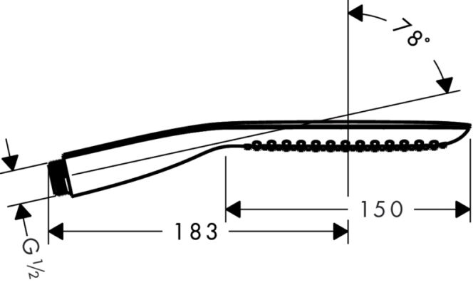 Hansgrohe PuraVida 120