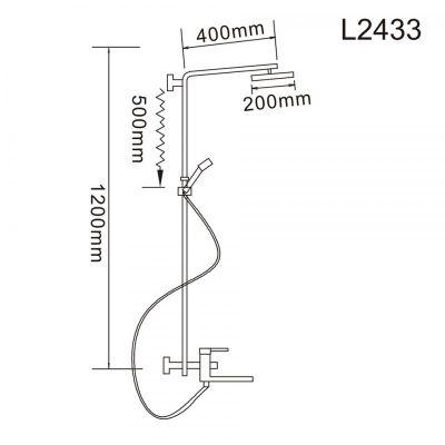Ledeme L2433 хром