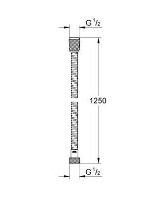 Grohe Relexa 125 см