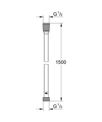 Grohe Silverflex 150 см