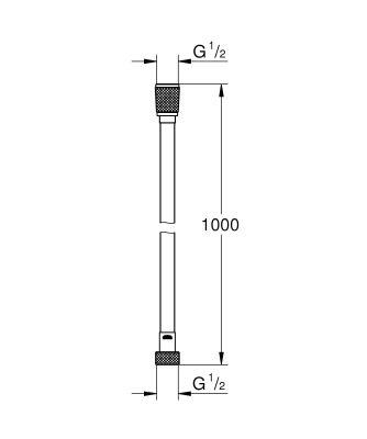 Grohe Silverflex Longlife 100 см