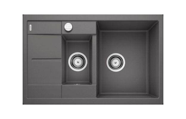 Кухонная мойка Blanco Metra 6 s compact темная скала