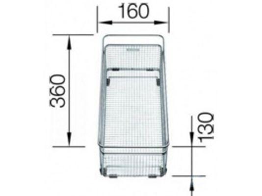 Blanco Subline 700-u level антрацит