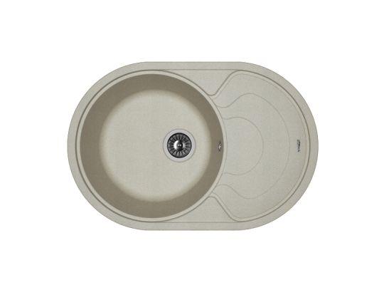 Кухонная мойка Florentina Родос 760 (серый)