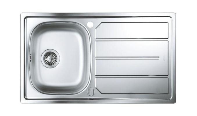Кухонная мойка Grohe 31552SD0 с корзинчатым вентилем