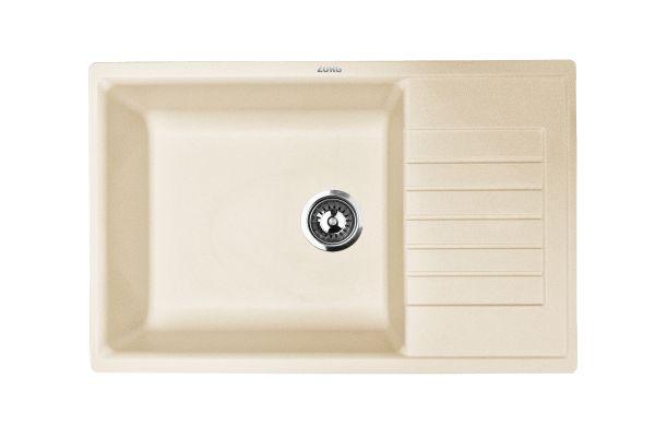 Кухонная мойка ZorG Dello 78 натуральный воск