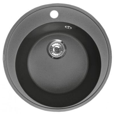 Кухонная мойка ZorG Fresco 45 черный опал