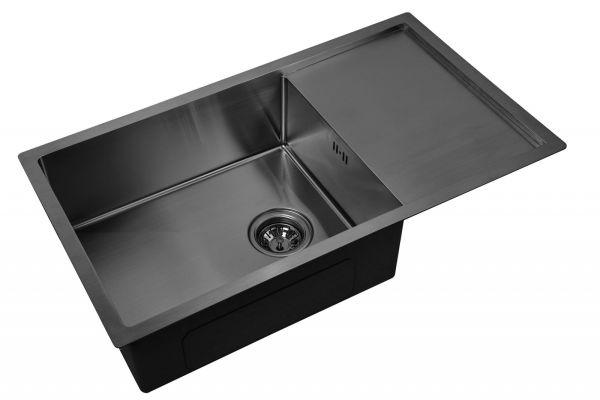 Кухонная мойка ZorG PVD 7844 GRAFIT 3мм