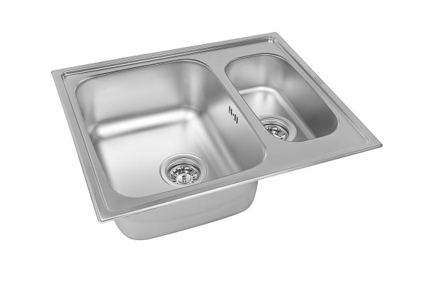 Кухонная мойка ZorG ZLL 6150-2 микродекор