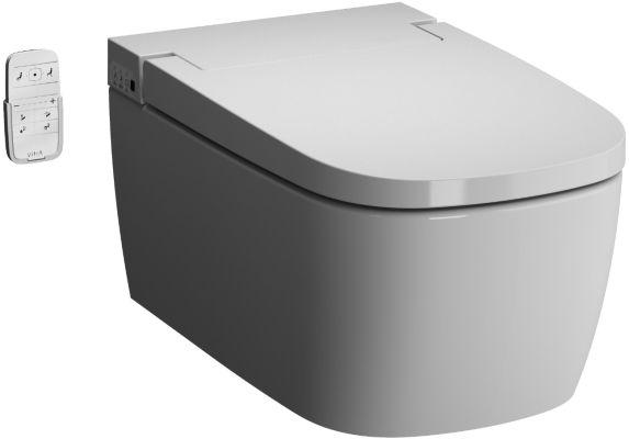 Подвесной унитаз Vitra V-Care Comfort с сиденьем микролифт