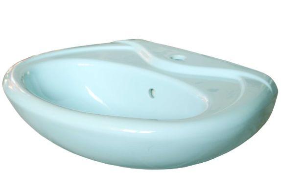 Умывальник Керамин Палитра 60 см голубой, с креплением