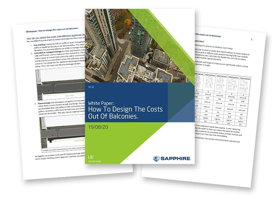 standardisation reducing cost balconies whitepaper