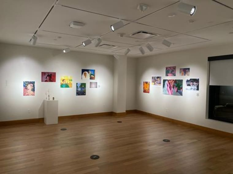 Install shots from FYS Visual & Studio Arts: What we have thought about and what we are thinking