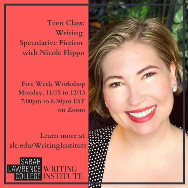 ✨ Calling all teen writers! ✨ We've got three virtual writing classes for teens, starting in October! 🪐 Writing Speculative Fiction with Nicole Flippo (5 weeks) 💌 Writing Poetry with Matthew Thompson (4 weeks) 🦹🏻♀️ Writing Your Own Comics with Samantha Steiner For young writers ages 14 to 18, on Zoom. Click the Fall 2021 Virtual Classes link in our bio for more details! ✨ #writing #teens #sarahlawrencecollege #writingworkshop #virtual #comics #poetry #lovestories #speculativefiction #scifi #fantasy #fantasybooks #YA #horror #dystopian #books #teen #youngwriters #middleschool #highschool #precollege