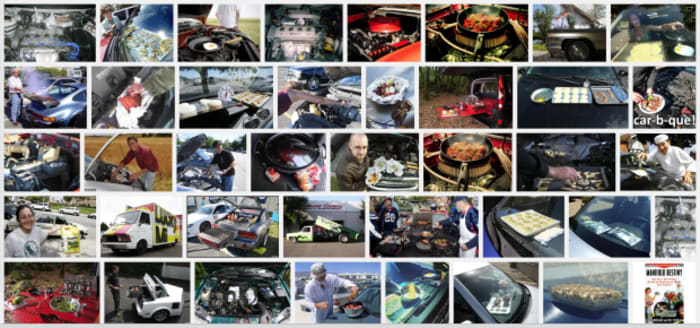 """Car Cooking""-Inspirationen"