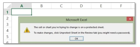 open protected excel sheet without password