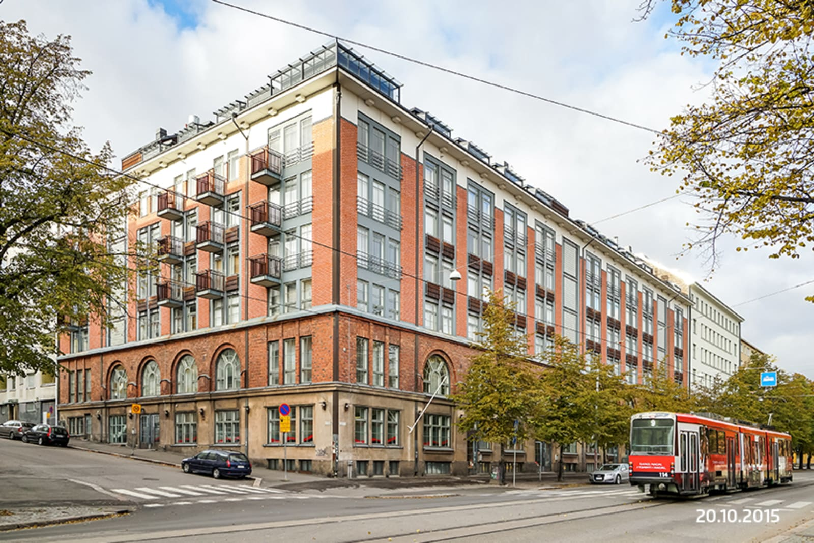 Helsinki, Alppila, Aleksis Kiven katu 52-54