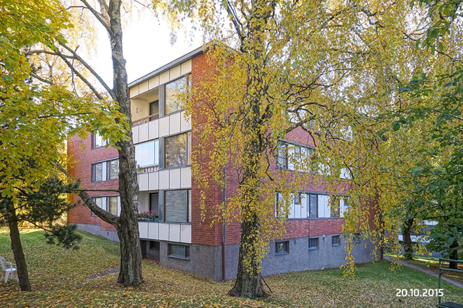 Helsinki, Etelä-Haaga, Ansaritie 1b, Vanha viertotie 4