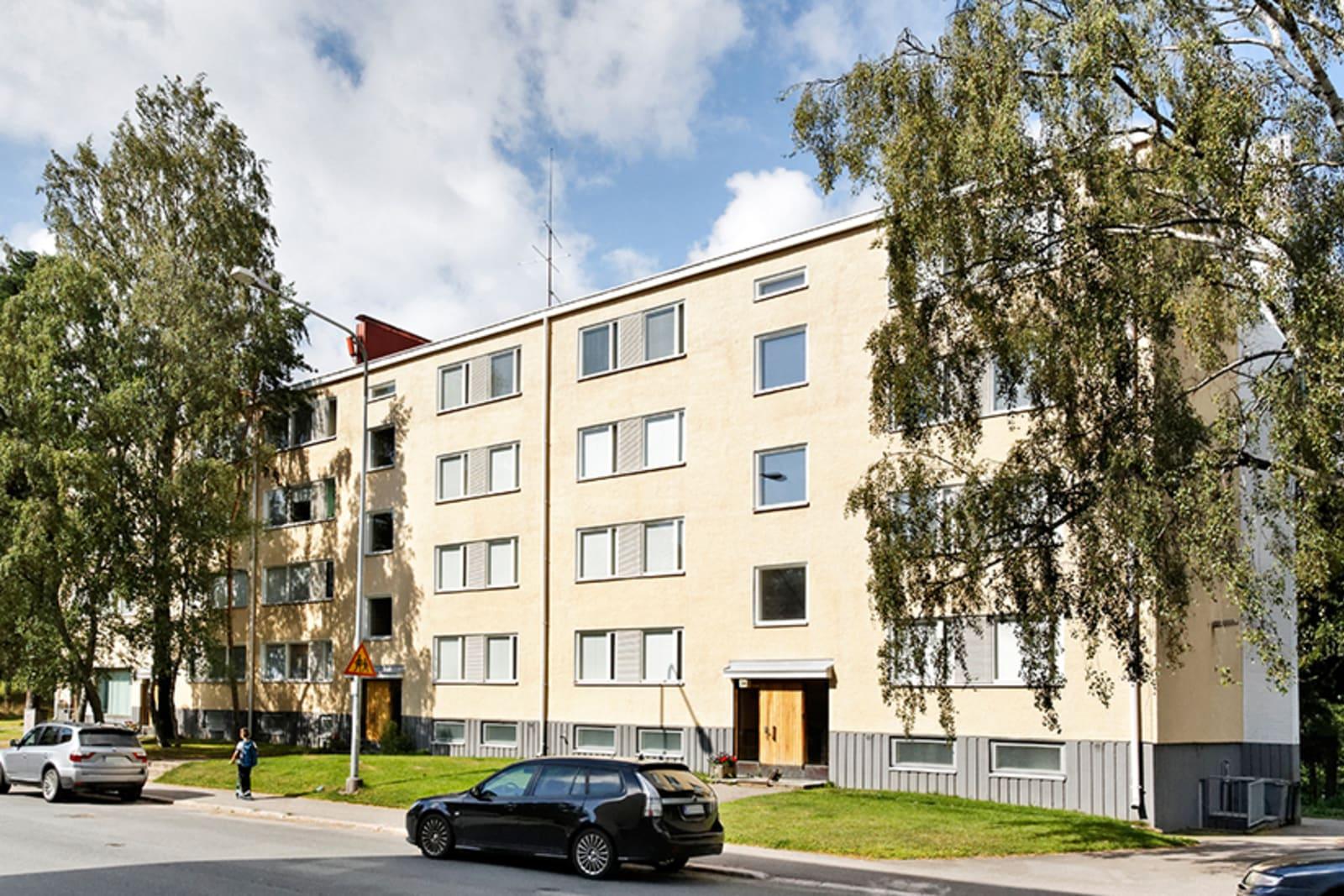 Helsinki, Herttoniemi, Hiihtomäentie 34