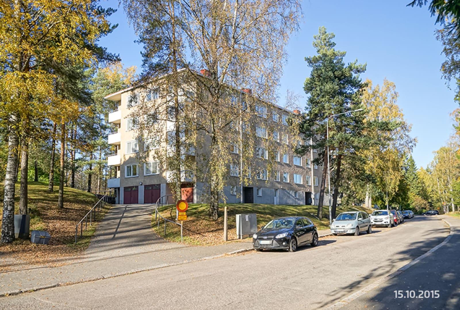 Helsinki, Herttoniemi, Hiihtomäentie 44