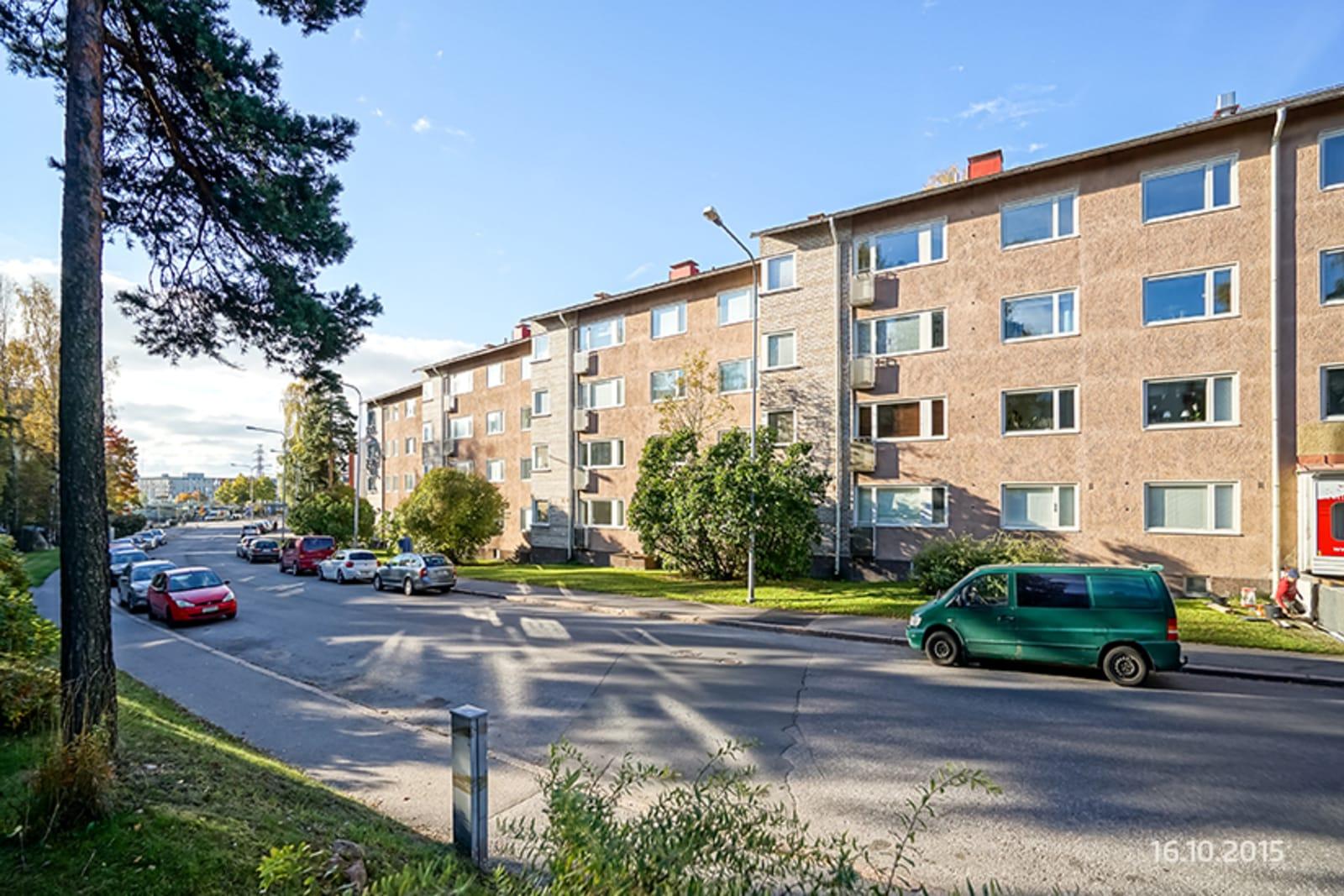 Helsinki, Herttoniemi, Hiihtomäentie 18