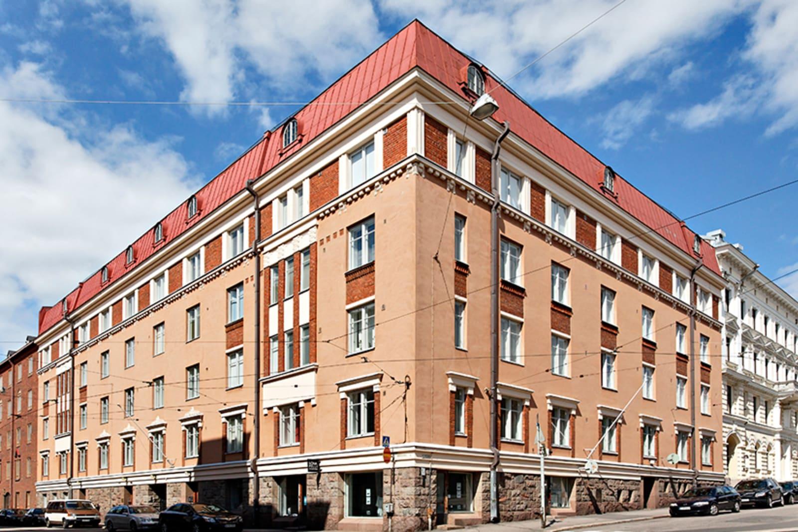 Helsinki, Kaartinkaupunki, Tarkkampujankatu 1