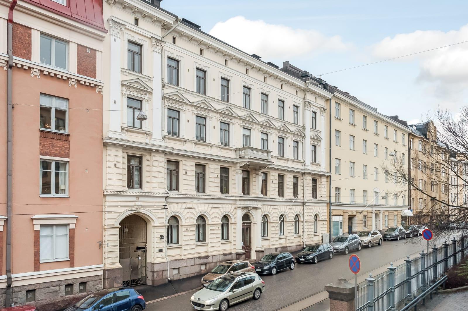 Helsinki, Kaartinkaupunki, Kasarmikatu 14