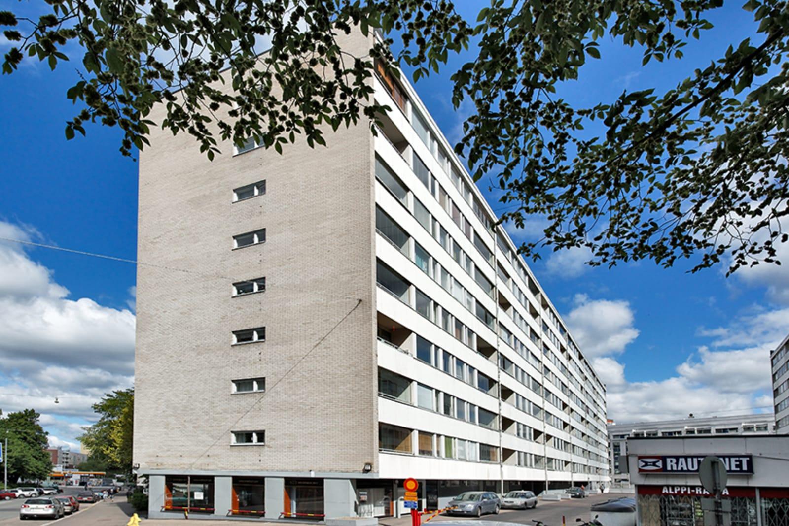 Helsinki, Kallio, Porvoonkatu 1-9