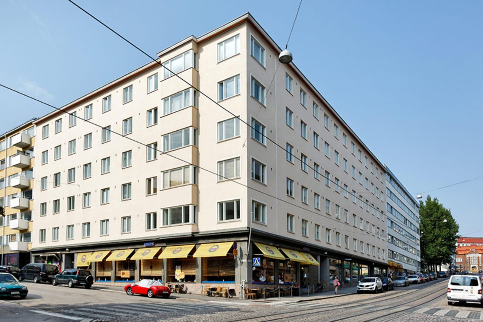 Helsinki, Kallio, Porthaninkatu 4, Kolmas linja 9