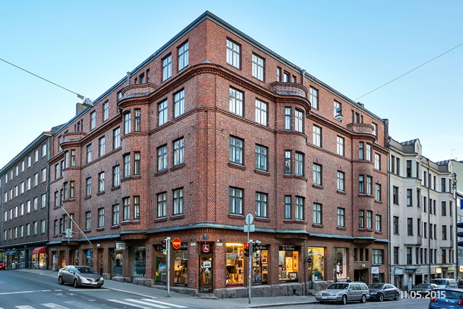 Helsinki, Kamppi, Fredrikinkatu 38