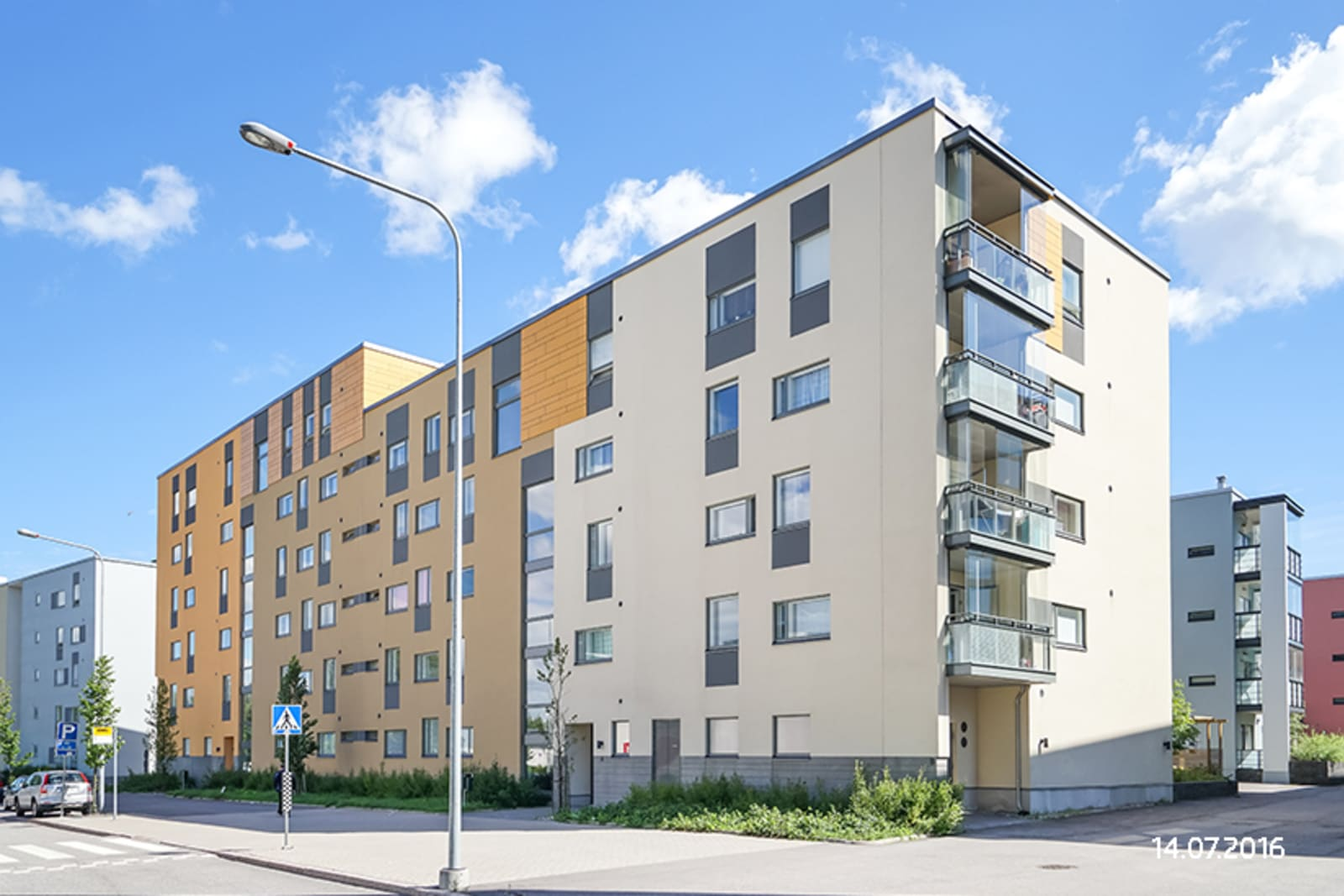Helsinki, Konala, Ajomiehentie 8 ja Limonadikuja 1
