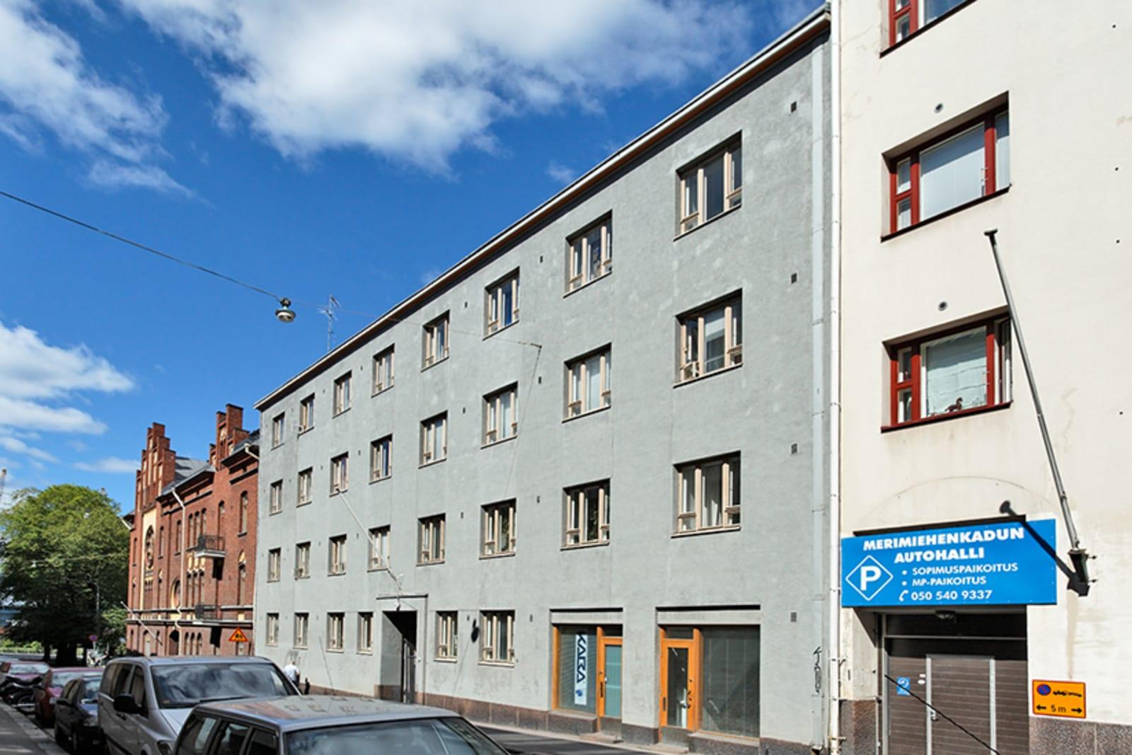 Helsinki, Punavuori, Merimiehenkatu 41