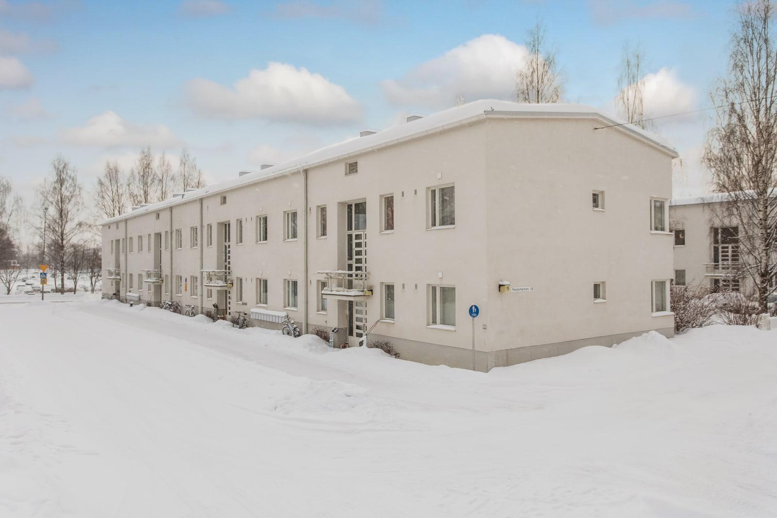 Jyväskylä, Rautpohja, Rautpohjankatu, Syrjälänkatu