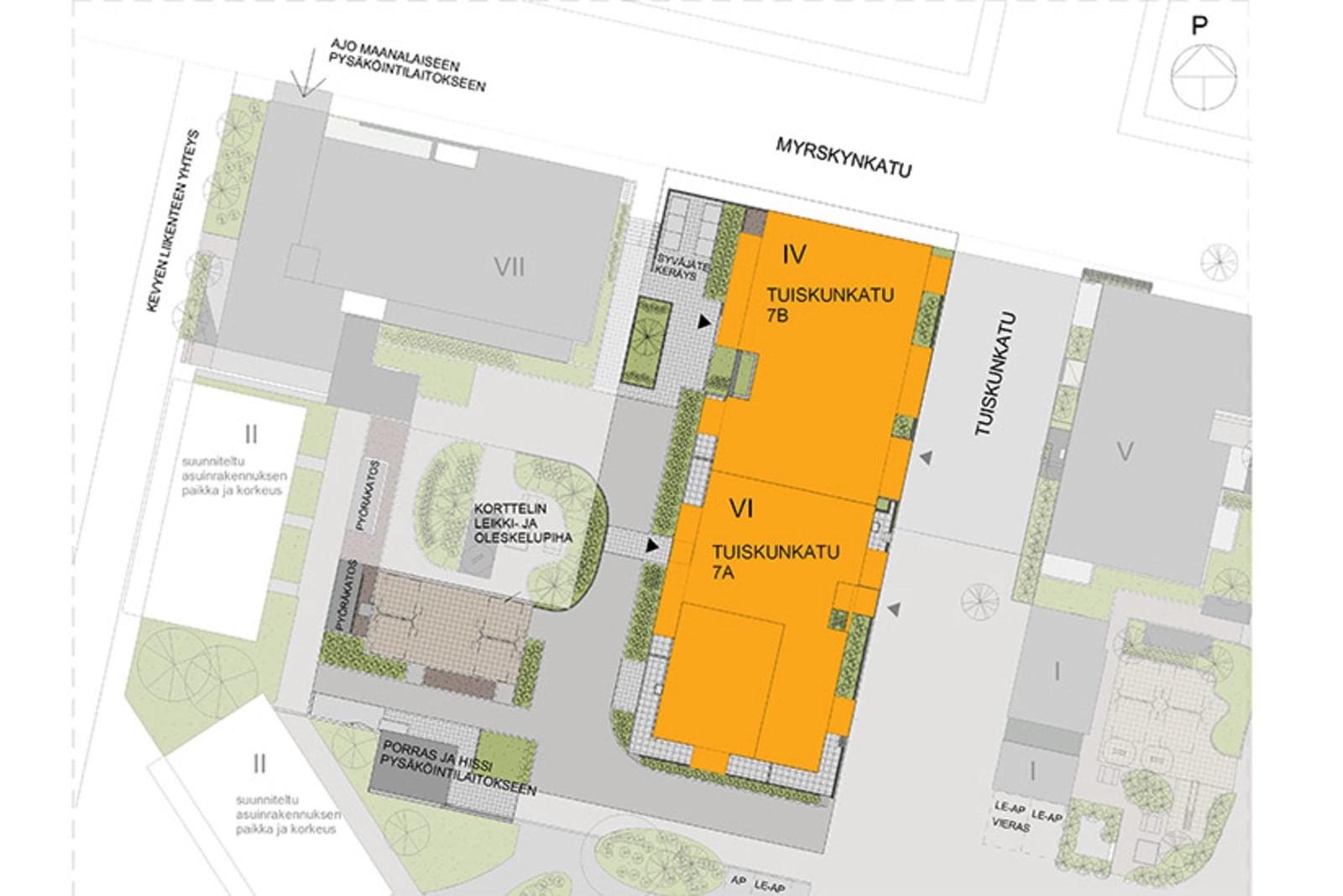 Tampere, Härmälänranta, Tuiskunkatu 7